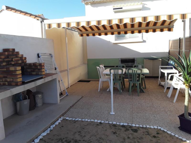 Terrasse devant le logement