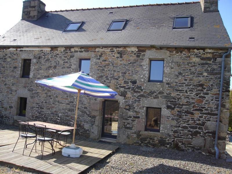 façade côté sud avec la terrasse