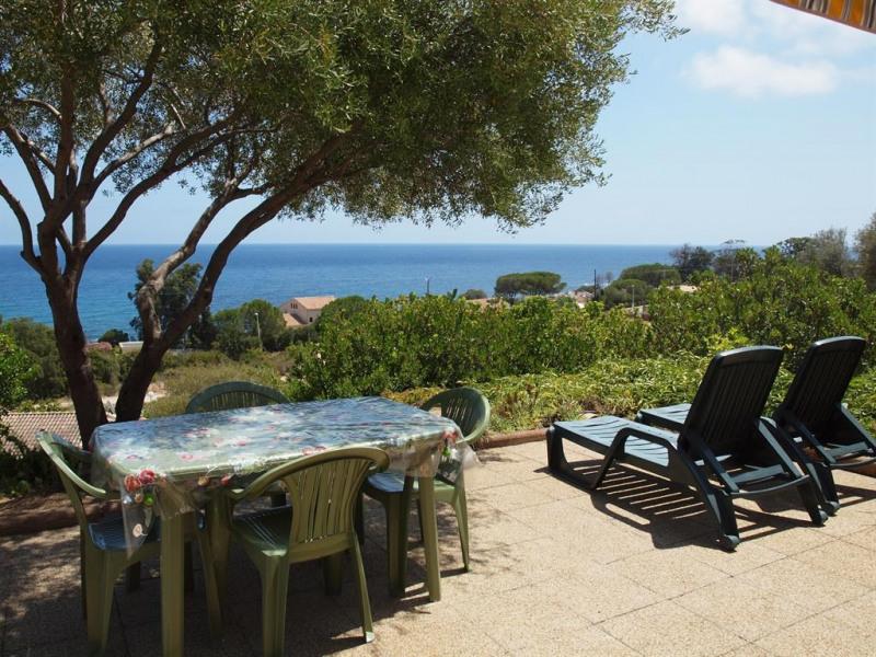 Holiday rentals Sari-Solenzara - Apartment - 5 persons - BBQ - Photo N° 1