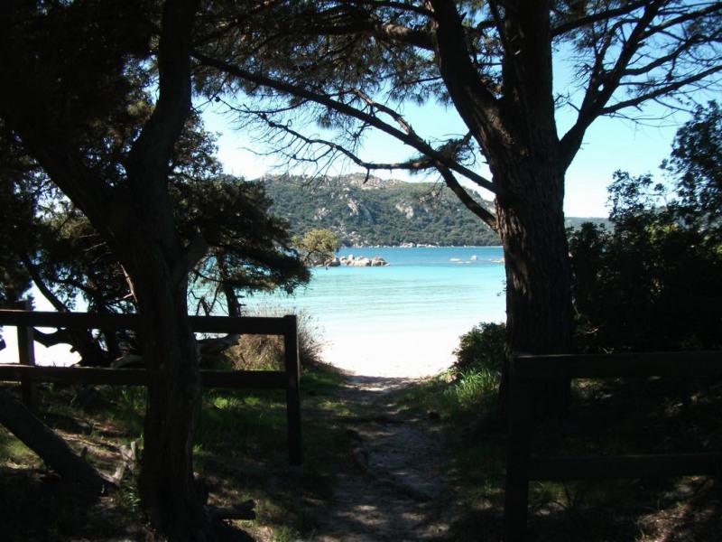 Maison dans résidence pour 4 personne(s)climatisée, vue féerique mer et montagne,a 5 mn a pieds plage de Santa Giulia