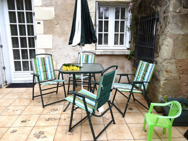 Location vacances La Roche-Posay -  Appartement - 5 personnes - Chaise longue - Photo N° 1
