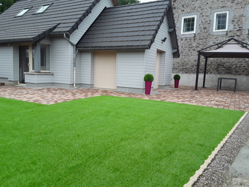 Jardin avec terrasse privative