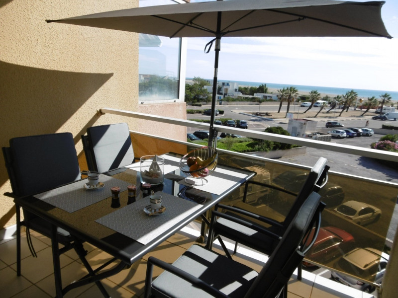 Location vacances Leucate -  Appartement - 4 personnes - Balcon - Photo N° 1