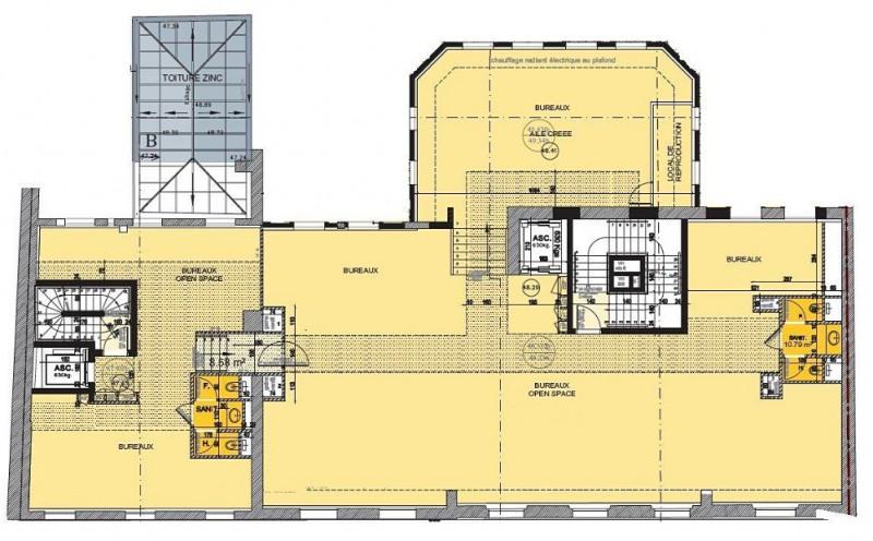 location bureau paris 17 me paris 75 390 m r f rence n h roche 470650. Black Bedroom Furniture Sets. Home Design Ideas