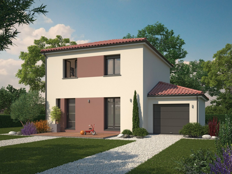 Maison  2 pièces + Terrain 600 m² Vonnas par Maison Familiale Decines Charpieu