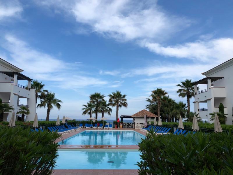 T2 bord de mer, avec piscine dans une résidence d'exception.
