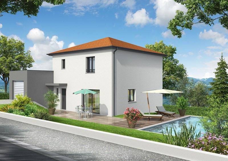 Maison  5 pièces + Terrain 1451 m² Saint Didier de Bizonnes par COMPAGNIE DE CONSTRUCTION
