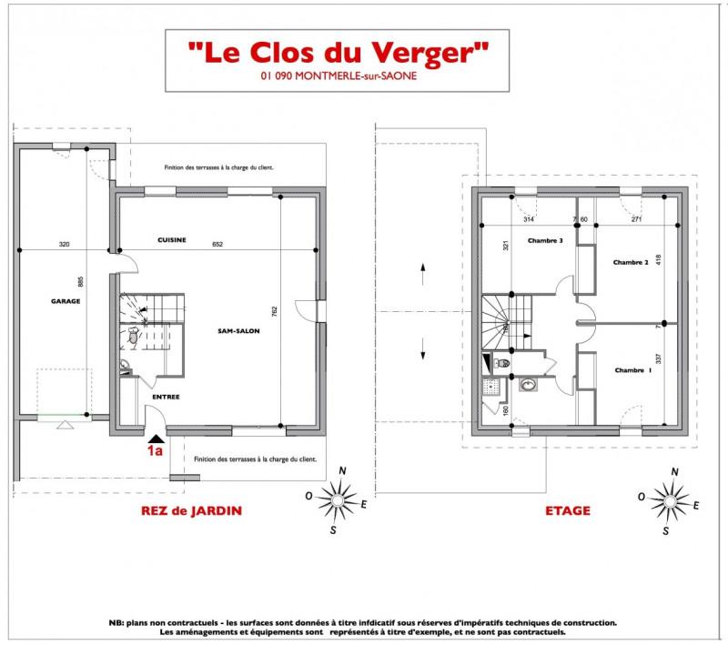 Maison  5 pièces + Terrain 350 m² Montmerle-sur-Saône par ARVE Lotissements