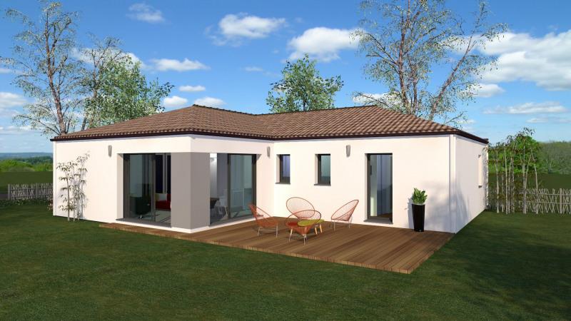 Maison  5 pièces + Terrain 500 m² Le Perrier par Maison Briot Saint-Nazaire