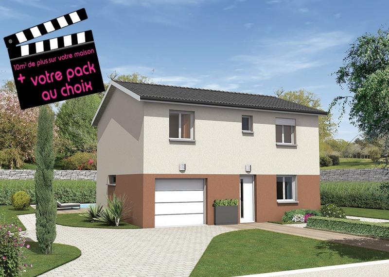 Maison  5 pièces + Terrain 1365 m² Châtillon-la-Palud par MAISONS PUNCH AMBERIEU