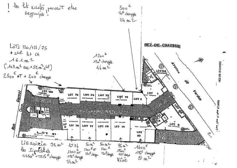 Location Bureau Romainville