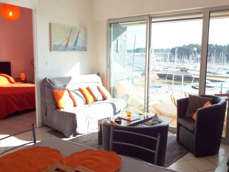 La Trinité Sur Mer, face au port et à proximité directe des commerces, bel appartement 2 pièces. ...