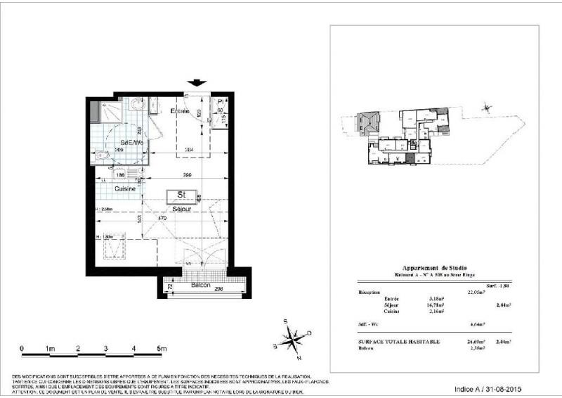 location studio montereau fault yonne 436 mois appartement f1 t1 1 pi ce 26 69m. Black Bedroom Furniture Sets. Home Design Ideas