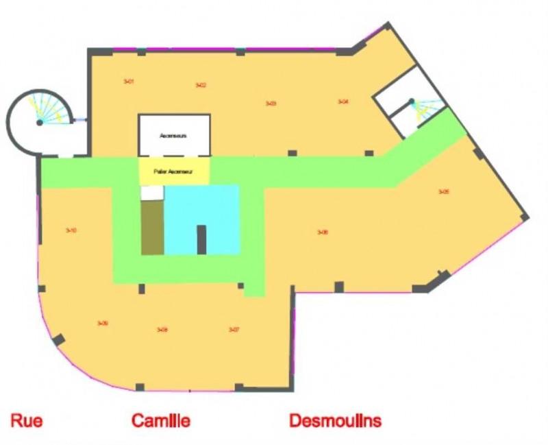 location bureau issy les moulineaux hauts de seine 92 1321 m r f rence n 406964. Black Bedroom Furniture Sets. Home Design Ideas