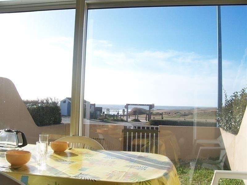 Vue mer - Appartement rez de chaussée de type 2 avec jardinet clos / 4 couchages LA SAUZAIE
