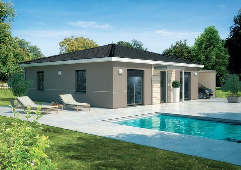Maison  3 pièces + Terrain 550 m² Giroussens par MAISONS LOGECO