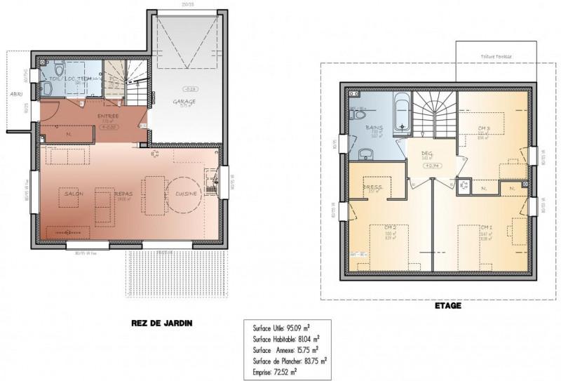 Vente maison sillingy maison projet de construction 95m for Vente projet de construction