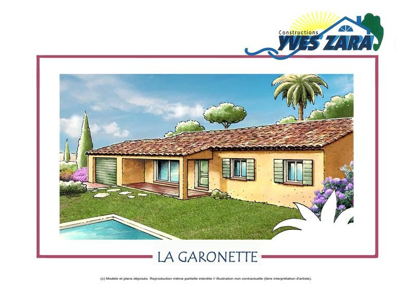 Maison  4 pièces + Terrain 280 m² Pignans (83790) par CONSTRUCTIONS YVES ZARA