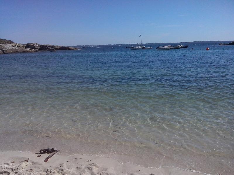 plage vue sur Groix