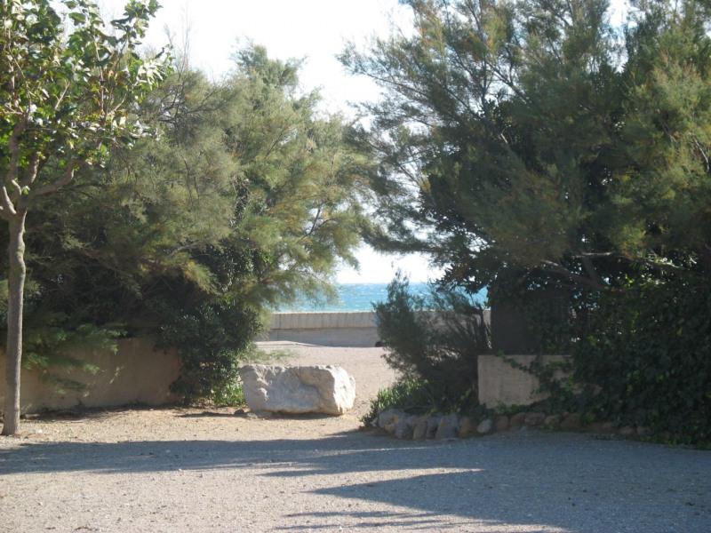 l'accès à la plage à 150 m de la maison