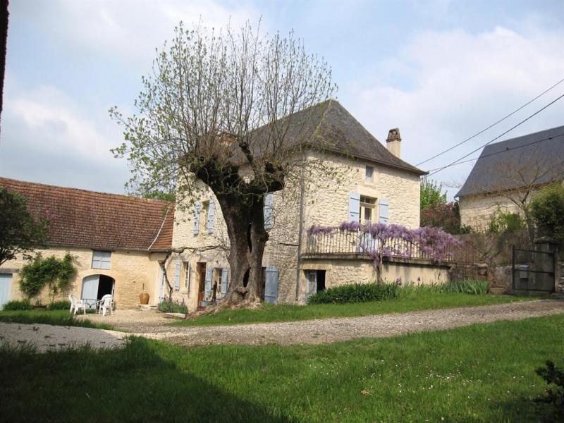 une authentique maison quercynoise restaurée