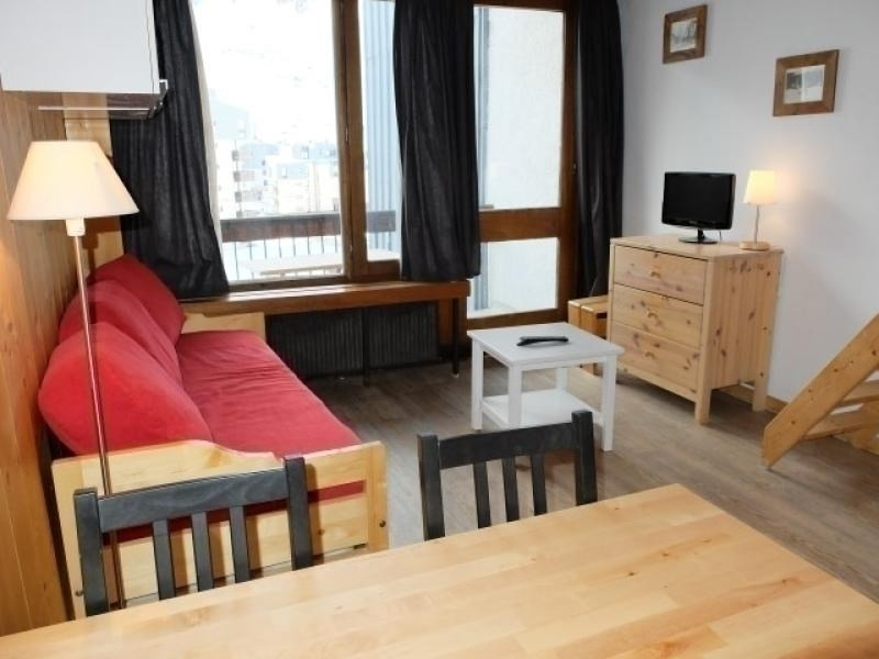 Studio-mezzanin in the heart of Val Claret area, close to the shops and with a perfect ski-in ski-out situation.