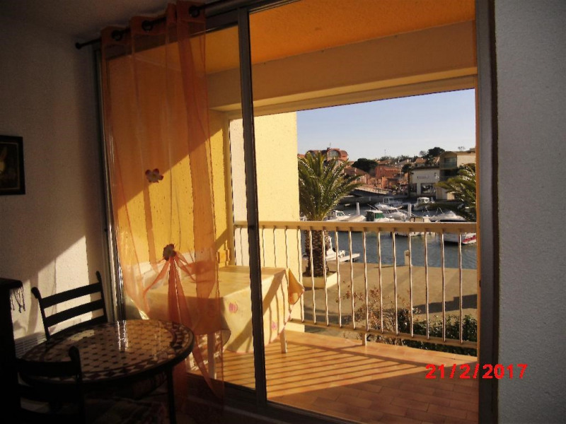 Holiday rentals Gruissan - Apartment - 3 persons - Television - Photo N° 1