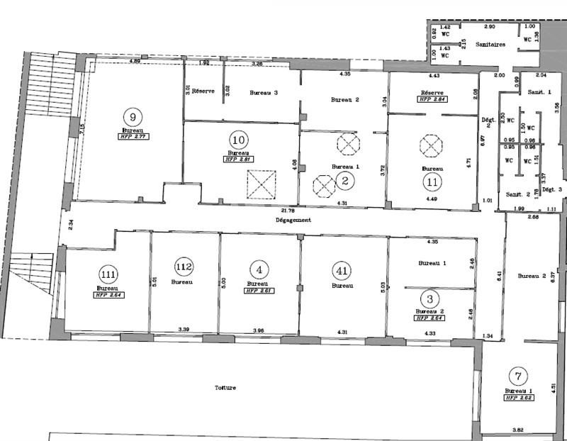 vente bureau issy les moulineaux hauts de seine 92 250 m r f rence n wi k29276v. Black Bedroom Furniture Sets. Home Design Ideas