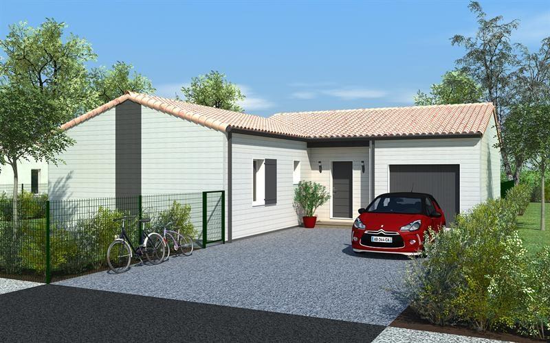 Maison  4 pièces + Terrain 576 m² Nieuil l'Espoir par DELRIEU CONSTRUCTION