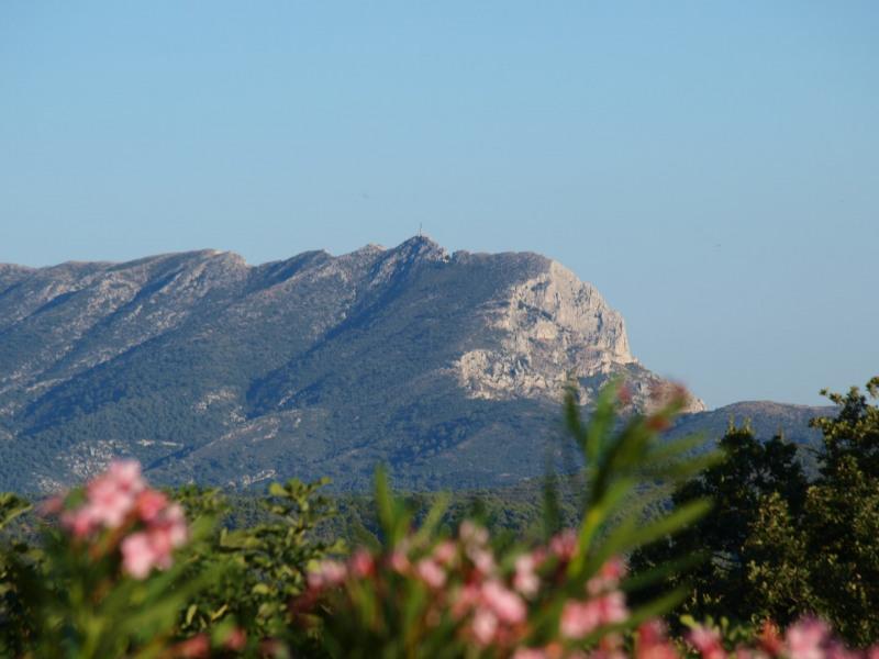 La vue sur la montagne Sainte Victoire