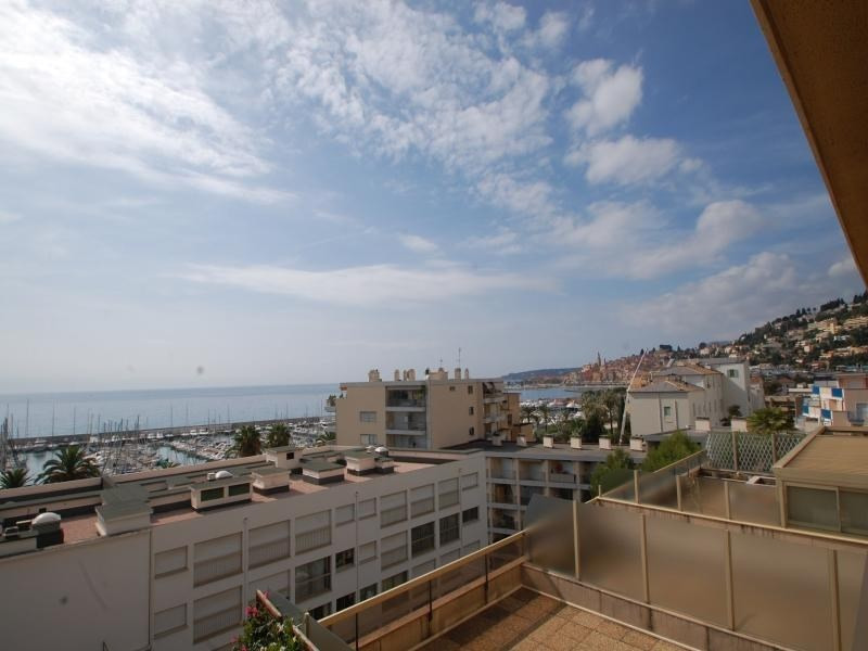 Magnificient sea view, terrace, garage and swimming pool