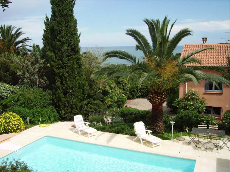Ensemble piscine villa