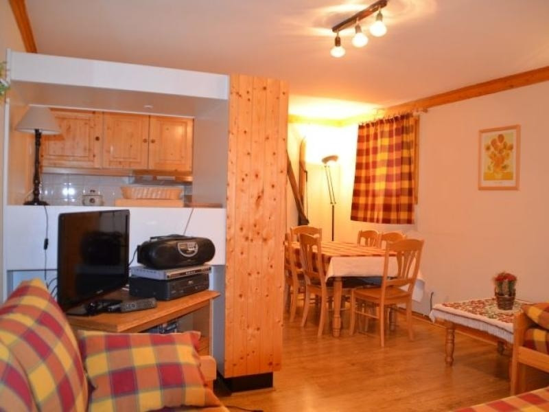 Appartement 4/6 pers avec cuisine équipée et vue sur le montagne