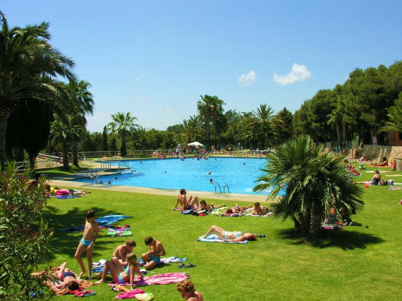 Kel air sur camping Vilanova Park