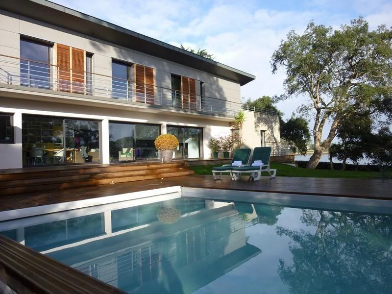 Belle villa neuve, contemporaine de 230m², PISCINE 4,5X11 chauffée, rideau roulant, terrain Sud E...
