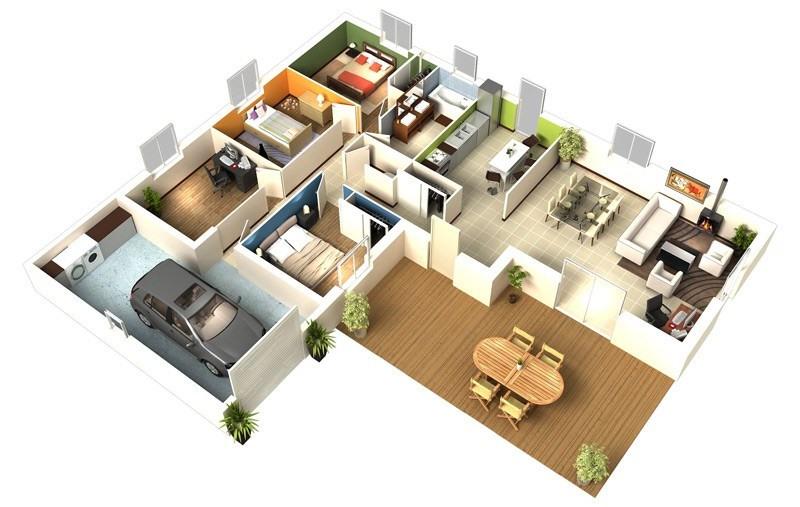 Maison  5 pièces + Terrain Ozan par Maison d'en France