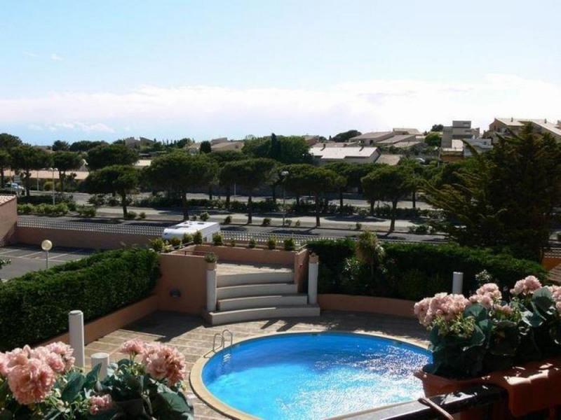 Gruissan (11) - Secteur port - Résidence le Méditerranée. Appartement 1 pièce avec coin cabine - ...