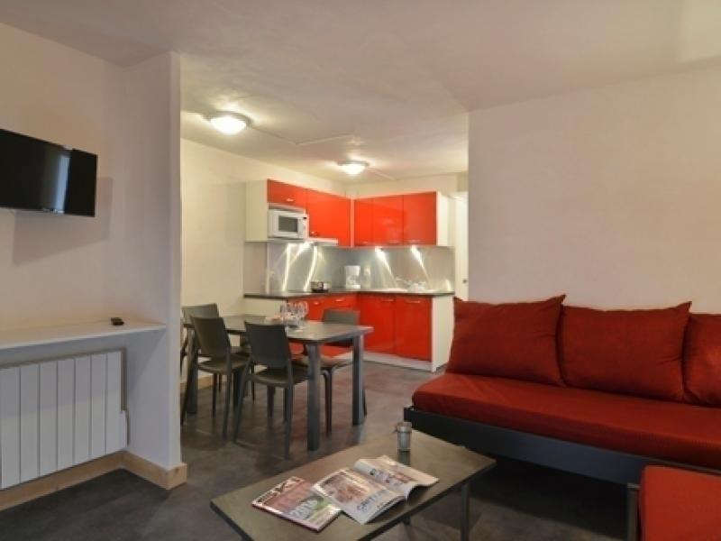 2 pièces rénové pour 5 personnes et au cœur de la station, 37 m²