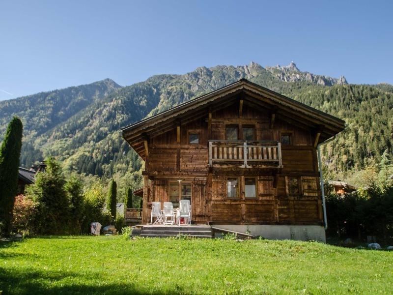 Joli chalet pour 6/8 personnes avec une vue superbe sur la chaine du Mont-Blanc