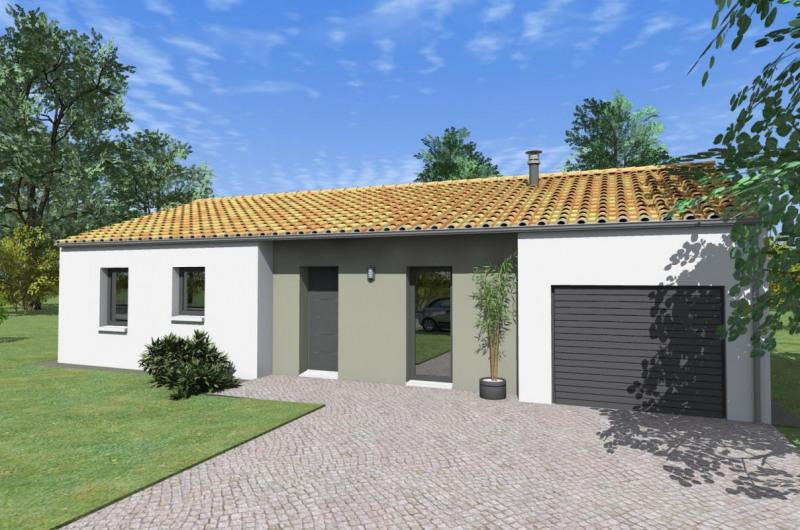 Maison  5 pièces + Terrain 594 m² Treize-Vents par ALLIANCE CONSTRUCTION LES HERBIERS