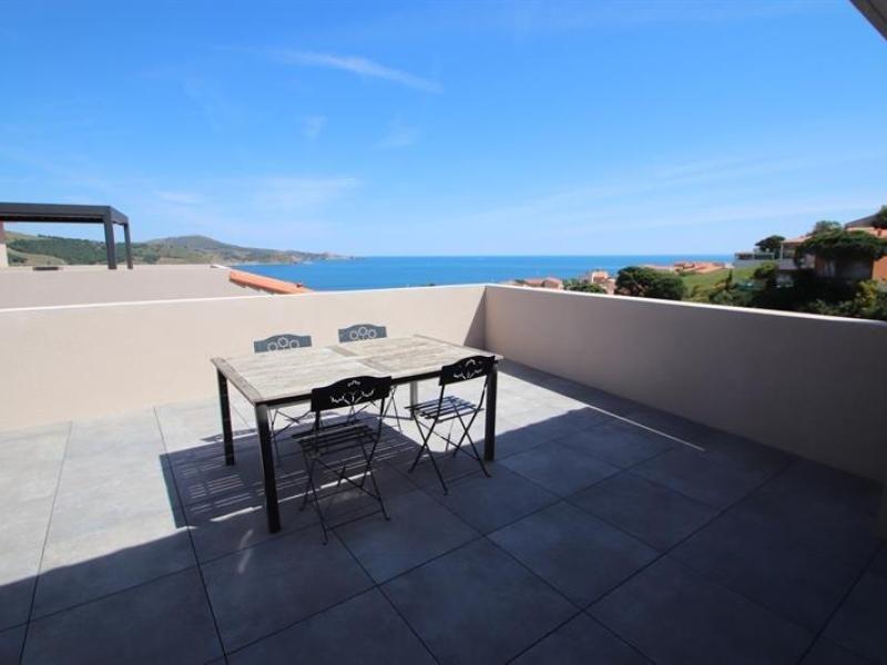 Appartement neuf, vue mer, climatisation, wifi, grande terrasse, dans résidence calme proche du p...