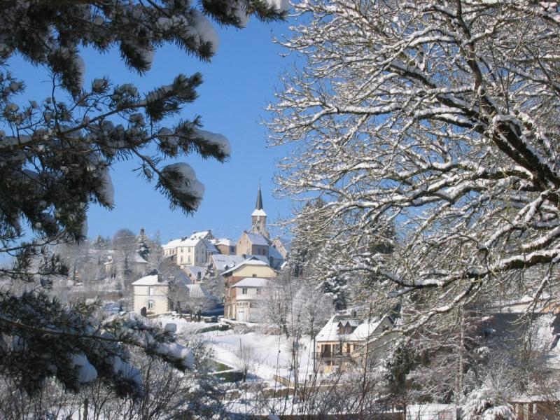 Le village de St Sauves d'Auvergne