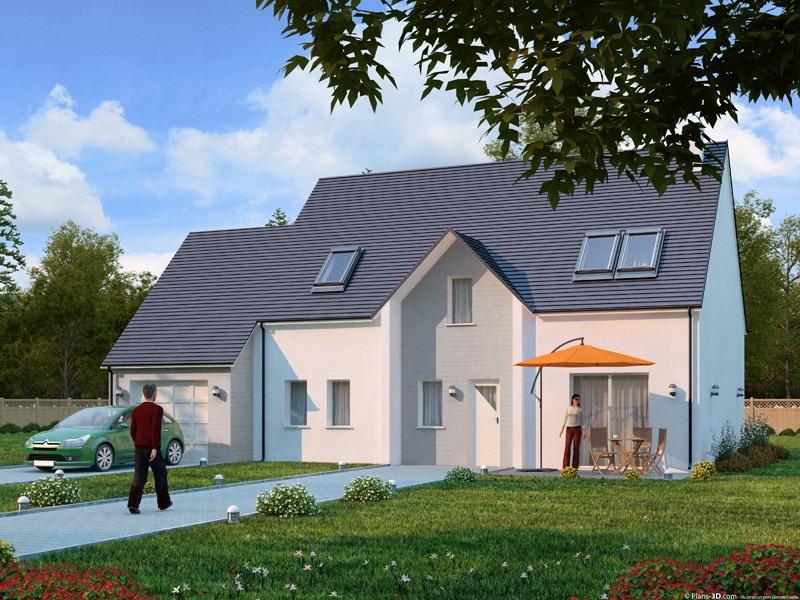 Maison  5 pièces + Terrain 367 m² Brières-les-Scellés par DRICE DERRICHE