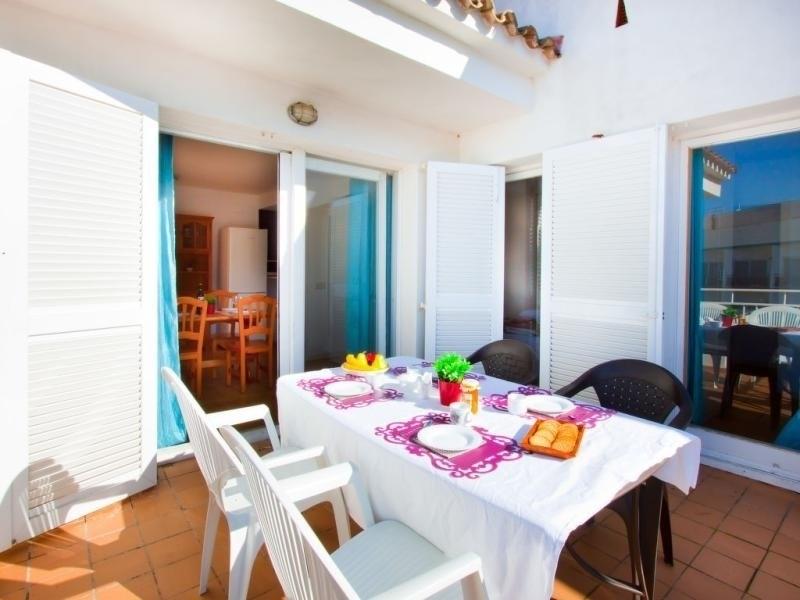 Location vacances Rosas -  Appartement - 6 personnes - Jardin - Photo N° 1