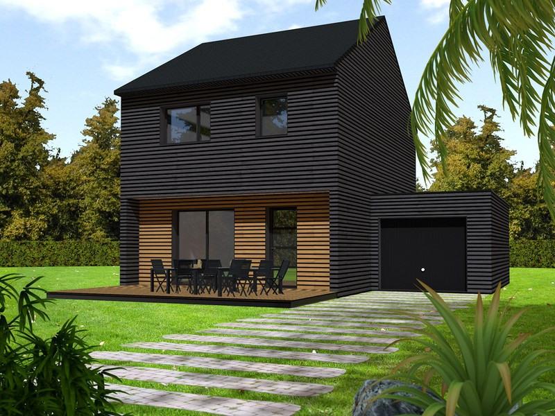 Maison  4 pièces + Terrain 653 m² Plougonvelin par PRIMOBOIS BREST