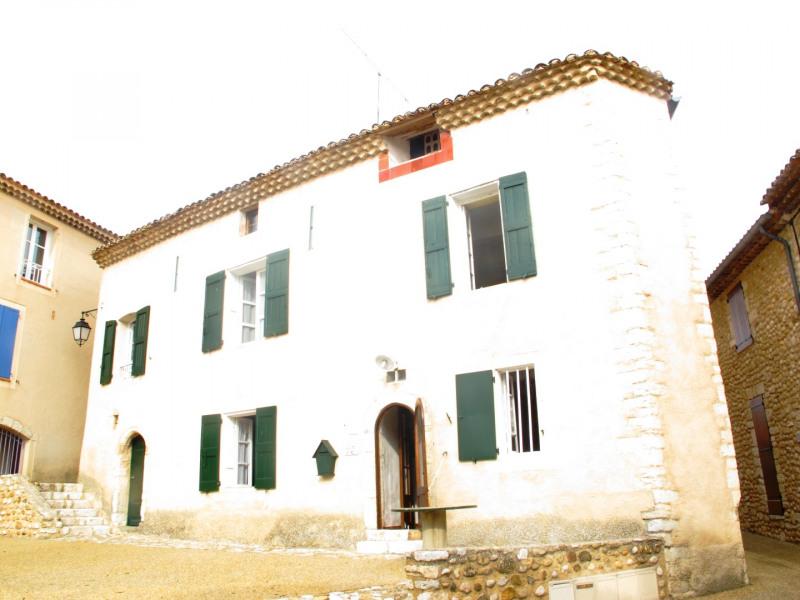 vue de la façade de la maison