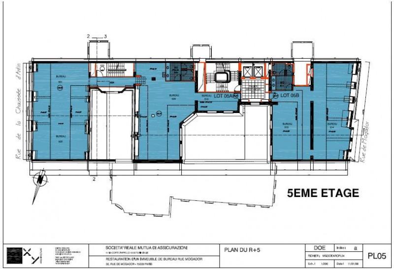 location bureau paris 9 me 75009 bureau paris 9 me de 610 m ref 584359. Black Bedroom Furniture Sets. Home Design Ideas