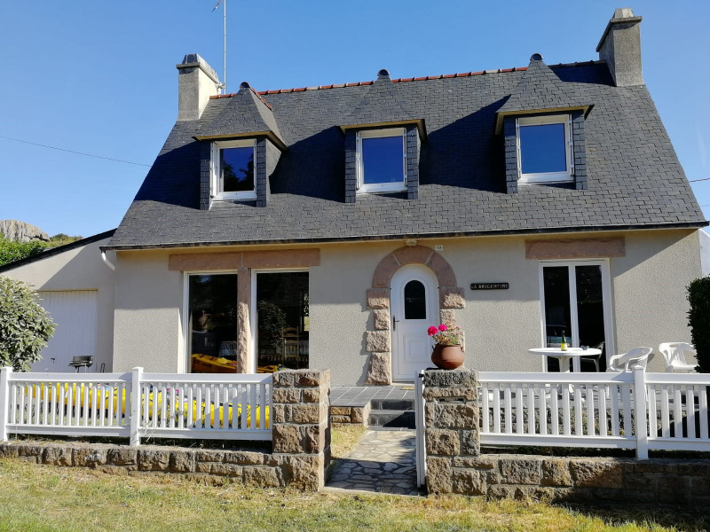 Holiday rentals Trégastel - House - 5 persons - BBQ - Photo N° 1