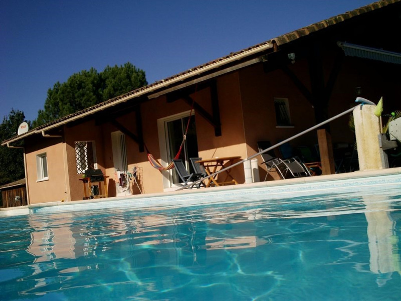 Maison pour 7 pers. avec piscine privée, Lit-et-Mixe