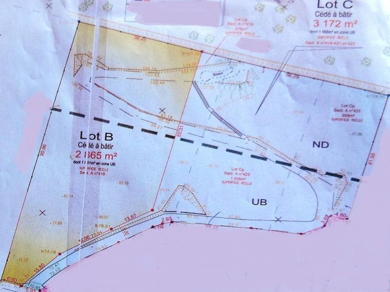 Vente terrain montreuil 3000m 66000 for Combien coute un terrain constructible